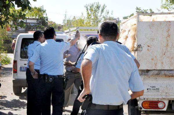 Antalya'da kardeş kavgası