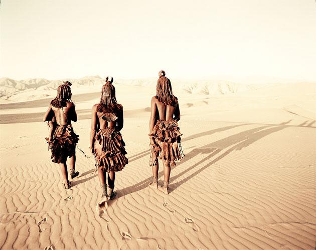 Çıplak kadınlar kabilesinin kırmızı sırrı
