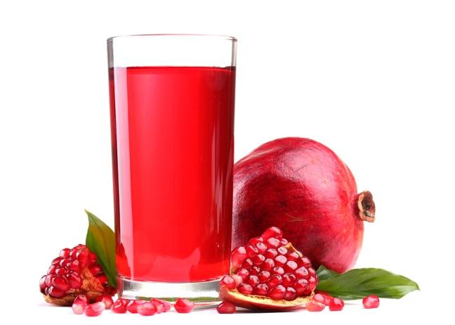 Как сделать сок из граната для ребенка