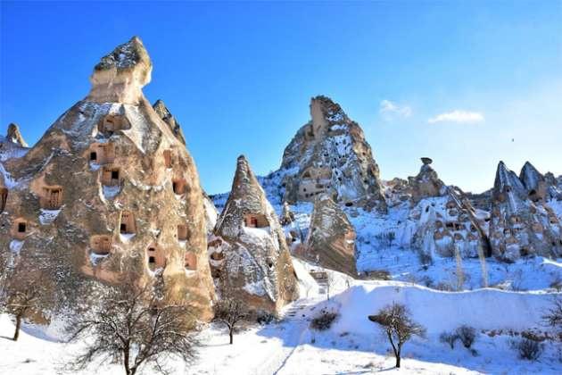 Nevşehir Haberleri: Kapadokyada kış başka güzel
