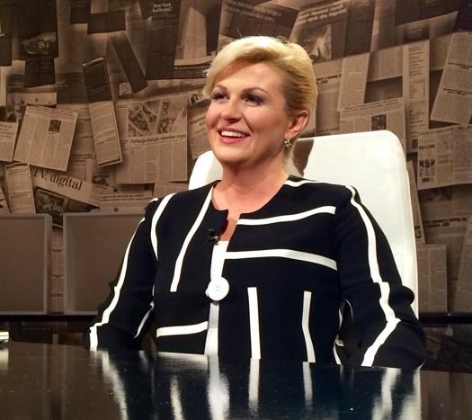 Hırvatistanın ilk kadın Cumhurbaşkanı Kolinda Grabar