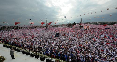 Başbakan Erdoğan'ın İstanbul mitingi