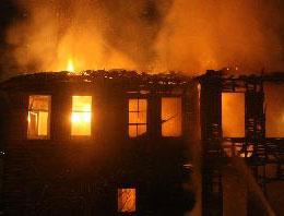Uşak'ta fabrika yangını