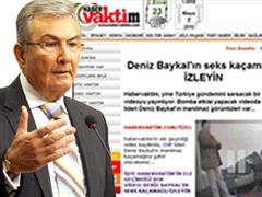 Deniz Baykal videosu site hackletti!