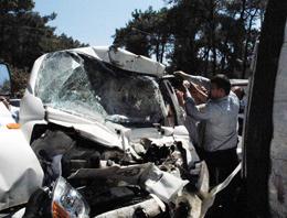 Marmarise feci trafik kazası