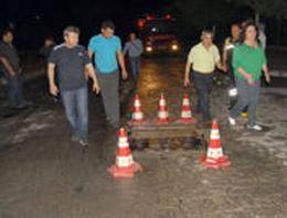 Denizli'de işçi servisi kaza yaptı:1 ölü