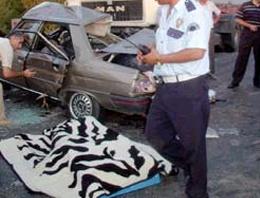 Şiran'da trafik kazası: 1 ölü 2 yaralı