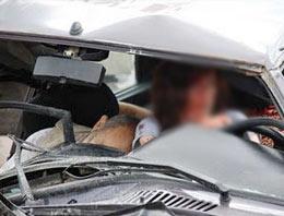 Antalya'da feci trafik kazası