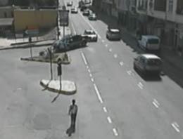 İbretlik kazalar kamerada