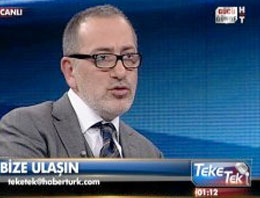 Fatih Altaylı muhabiri fena fırçaladı