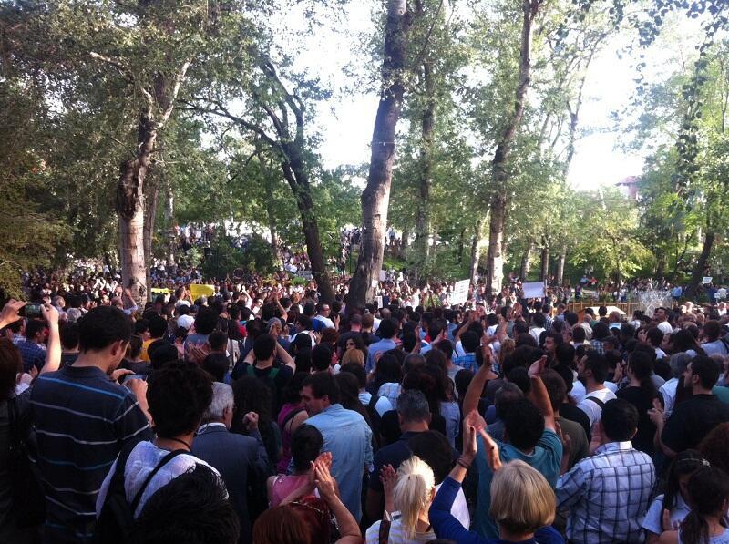 Ankara'da eylem devam ediyor!