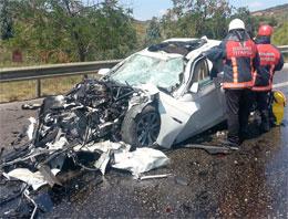Kartal'da lüks otomobilde feci ölüm
