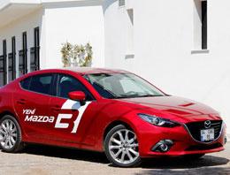 Mazda'nın Türkiye lokomotifi Mazda3