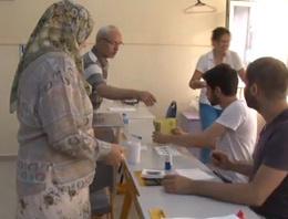 Cumhurbaşkanlığı seçiminde oy kullanma işlemi başladı