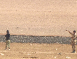 Türkiye'ye giren 2 IŞİD militanı görüntülendi