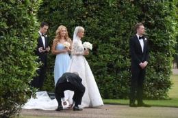 Yılın düğününde talihsiz olay Hilton'a büyük şok