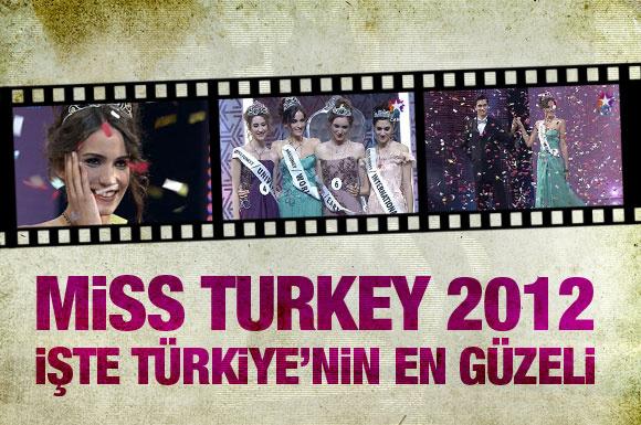 Türkiye'nin 2012 güzeli seçildi!
