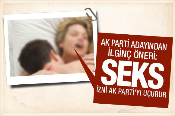 Seks izni AK Parti'yi uçurur!