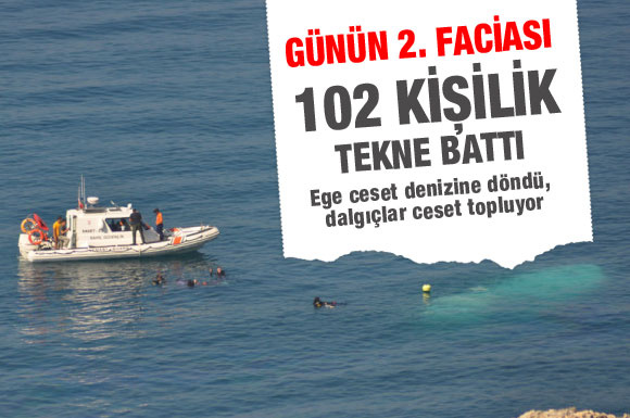 Bir felaket haberi de İzmir'den!