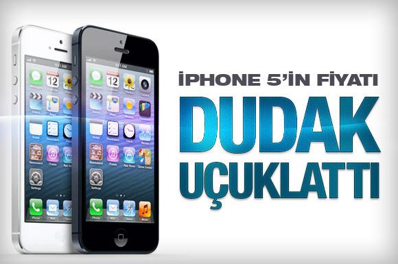 İşte iPhone 5'in Türkiye fiyatı!