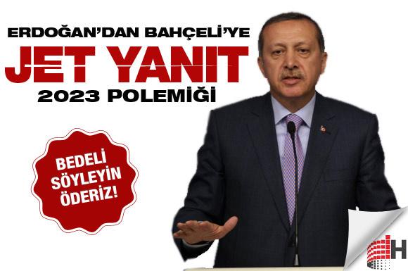 Erdoğan Bahçeli ile böyle dalga geçti