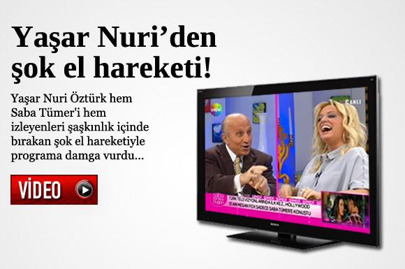 Yaşar Nuri'den şok el hareketi!