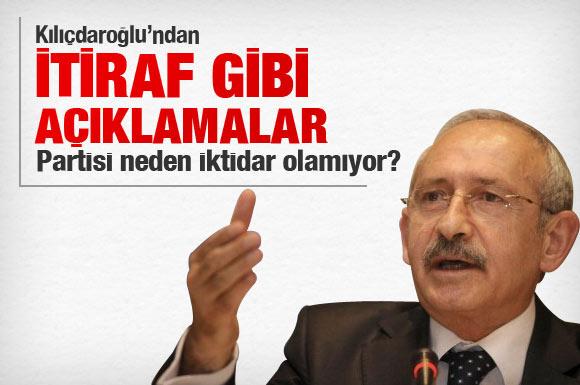 Kılıçdaroğlu Malatya'da itiraf etti