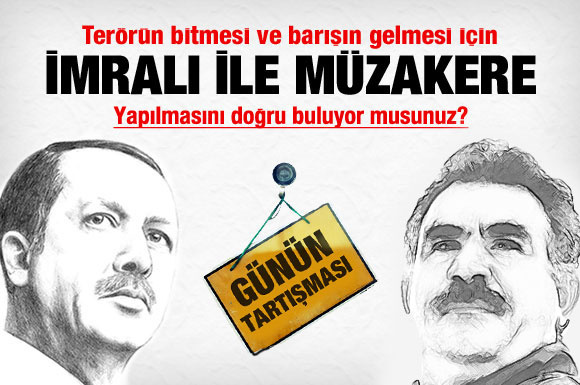 Sizce Öcalan ile müzakere yapılmalı mı?