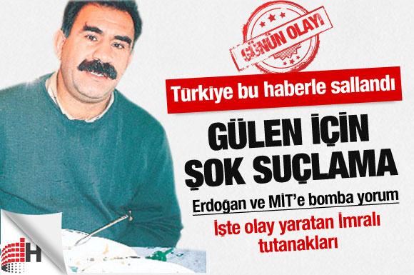 Apo'nun İmralı tutanakları Türkiye'yi salladı