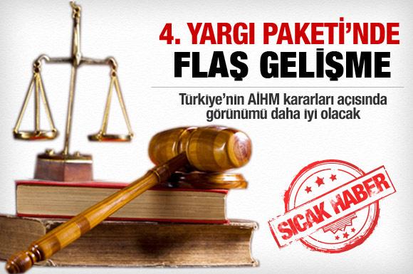 4. Yargı Paketi'nde son gelişme