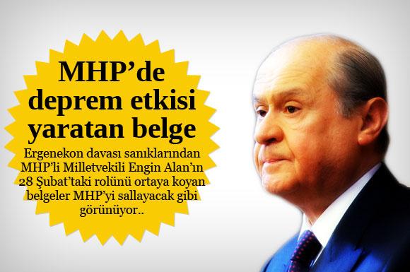 MHP'de deprem etkisi yaratacak belge