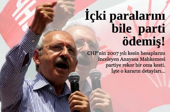 CHP'nin yolsuzluk yaptığı belgelendi