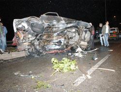 Çorluda trafik kazası: 3 ölü