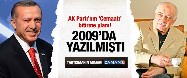 AK Parti'nin 'Cemaati' bitirme planı!
