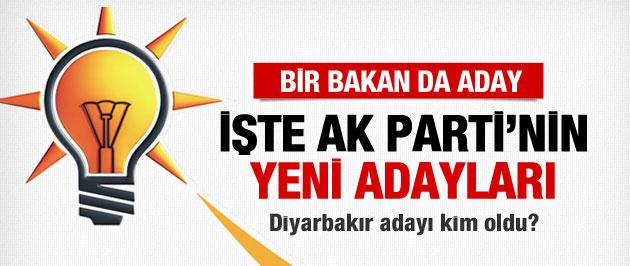 AK Parti son belediye başkan adayları