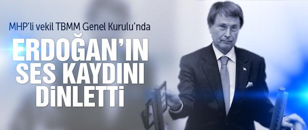 MHP'yi sallayan Erdoğan'ın ses kaydı