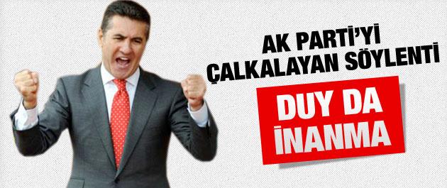 AKP'nin adayı Mustafa Sarıgül mü?