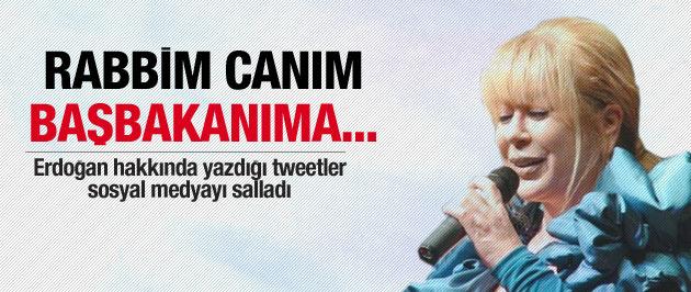 Zerrin Özer'in konuşulan Erdoğan tweetleri