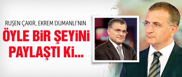Ruşen Çakır'dan olay Ekrem Dumanlı tweeti