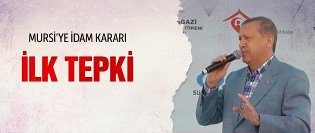 Erdoğan idam kararı verilen Mursi hakkında konuştu