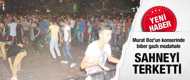 Murat Boz konserinde olay çıktı