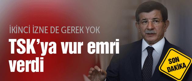 Davutoğlu TSK IŞİD operasyon açıklama