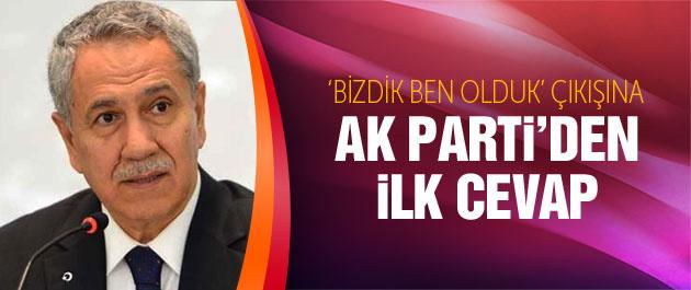 Arınça AK Partiden ilk tepki Atalaydan