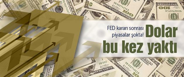 FED tutanakları açıklandı dolar düştü!