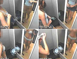 Kadınlar tuvaletinde gizli kamera