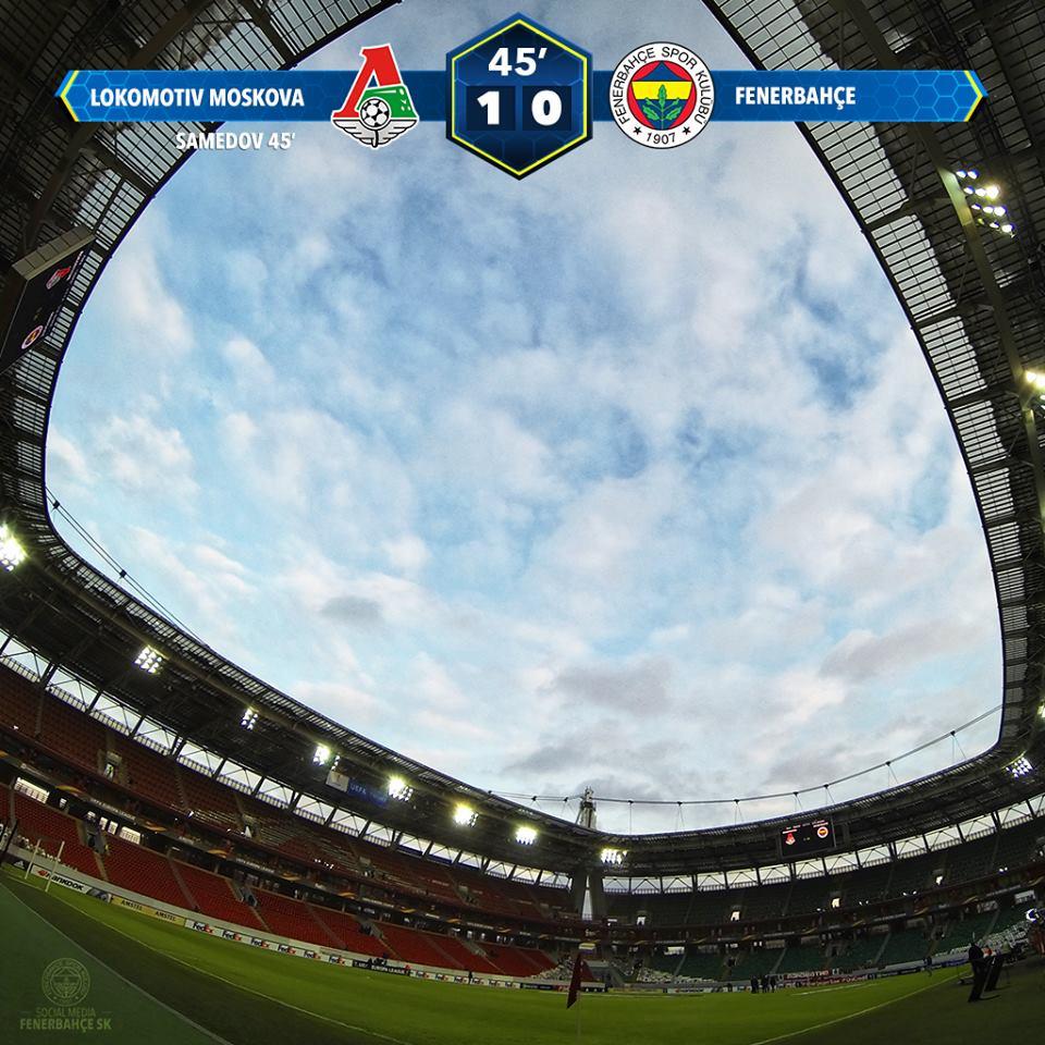 Fenerbahçe Lokomotiv Moskova