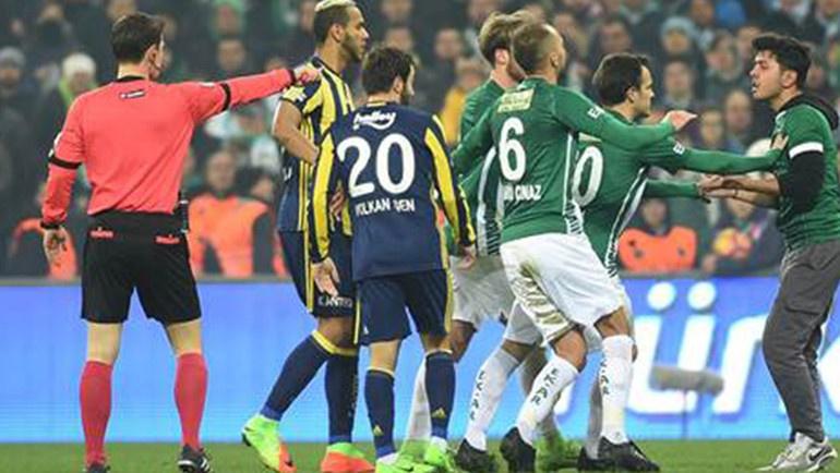 Bursaspor ile Fenerbahçe
