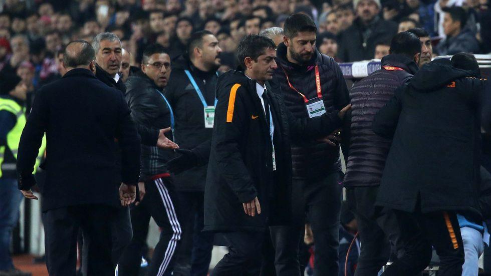 Galatasaray ile Sivasspor