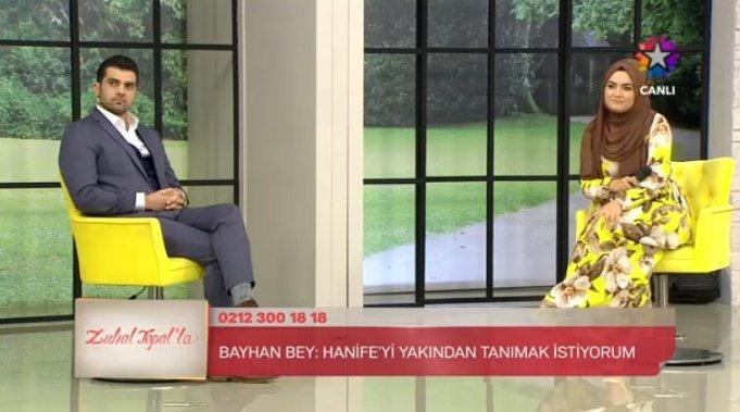 Popstar Bayhan evlilik programında Hanife ile ilgili görsel sonucu