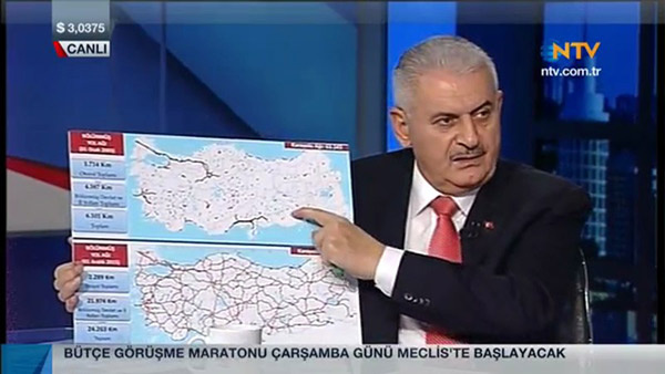 Binali Yıldırım canlı yayında açıkladı: 2019 a kadar...
